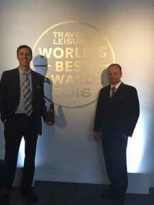Travel Leisure award