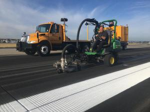 Runway Rubber Removal 6