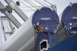 Vestas worker close up